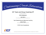 Team Relationships and Behavioral Coaching